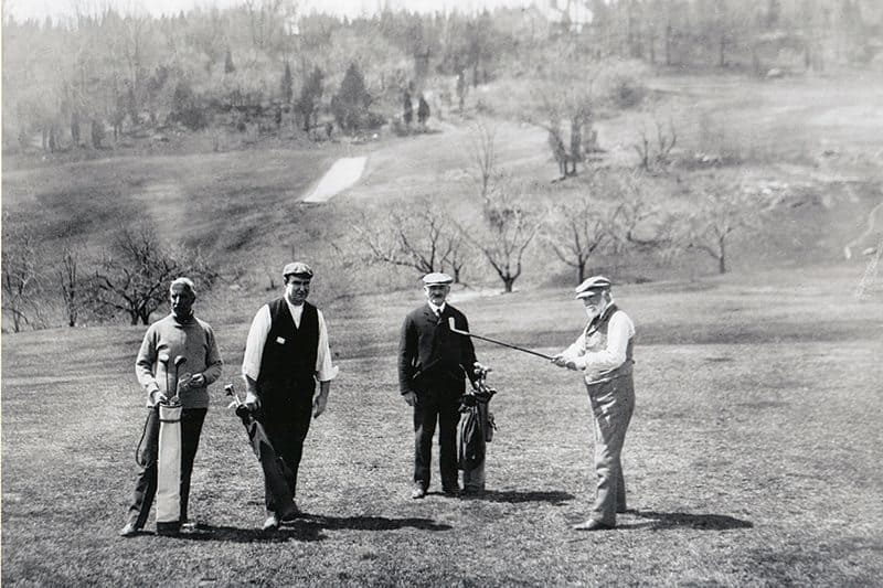 an overview of the history of golf in america Within this commercial-free site, the subject of golf course architecture is descriptions, that taken together hopefully trace the history and evolution of golf course and men like charles blair macdonald brought it to america, where he coined the term 'golf architect.